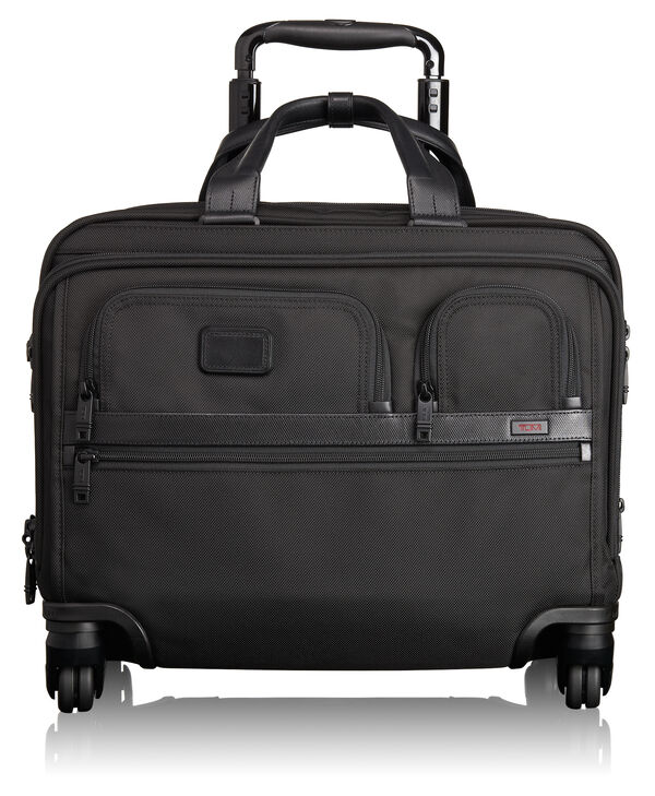 Alpha 2 4 Wheeled Deluxe Brief with Laptop Case