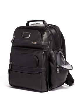 TUMI T-Pass® Business Class Brief Pack® Leather Alpha 3