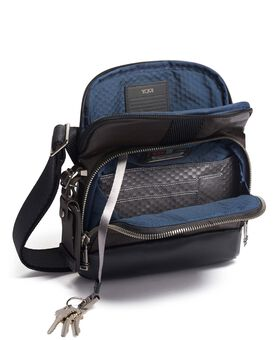 Barksdale Crossbody Leather Alpha Bravo
