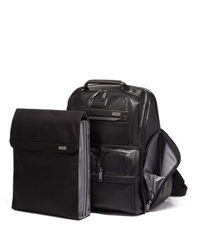 Compact Laptop Brief Pack® Leather Alpha 3
