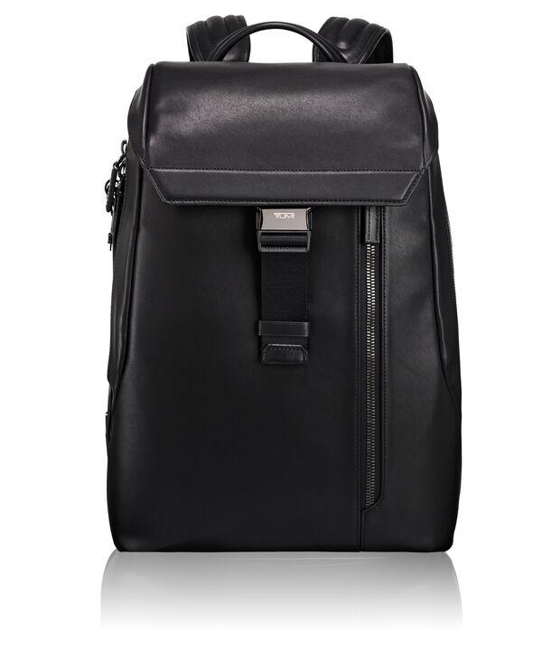 Ashton Dresden Flap Leather Backpack