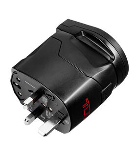 Electric Grounded Adapter with USB Electronics